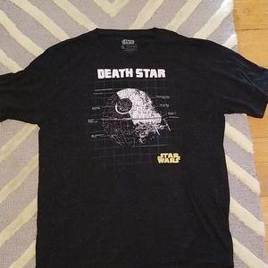 Star Wars Shirts - 4/$25❤Star Wars Death Star Tshirt